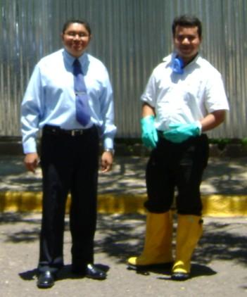 Ramón E. Chávez y Addi Elvir