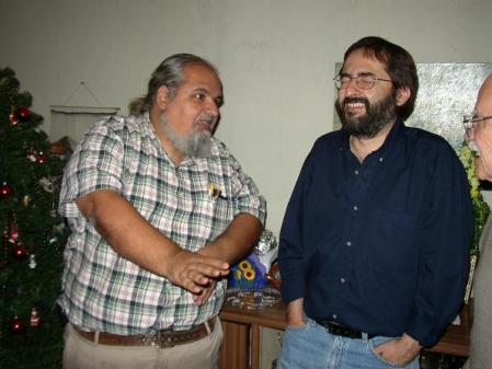 Gustavo Ponce, Fernando Quevedo y Roberto Molina (suegro de Fernando)